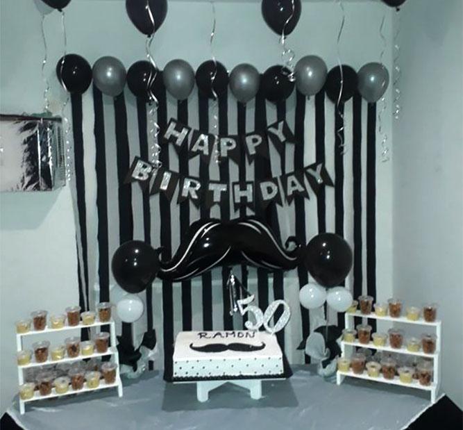 10 Ideas Para Decoración De Cumpleaños De Hombre Decoracion Para Fiestas