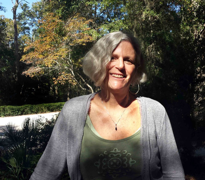 Lisa Brande at the Meher Spiritual Center, Myrtle Beach - Oct.2013 ; Photo taken by Anthony Zois