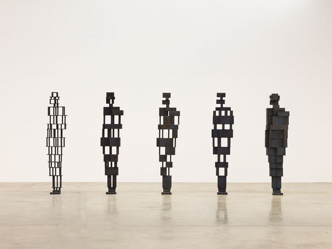 "Antony Gormley, ""Building 1-5"" (2013)"