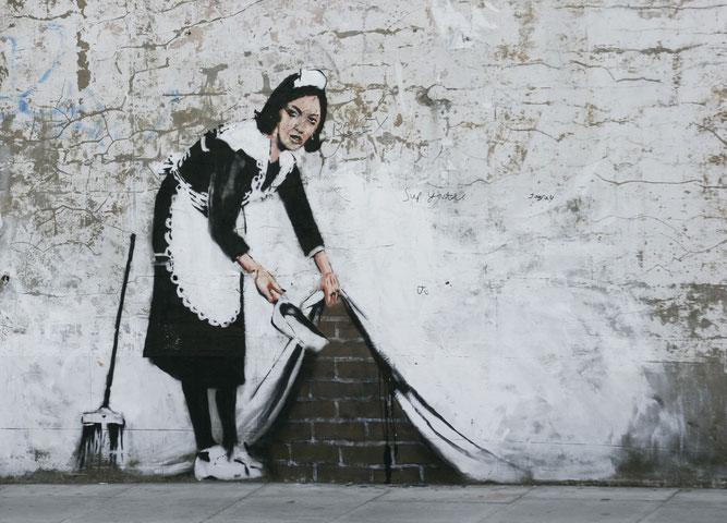 Opera di Banksy