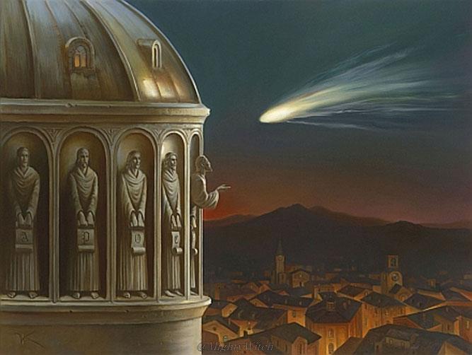 "Vladimir Kush, ""La cometa di Halley"""