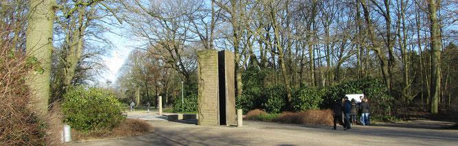 Parkeingang Bismarckstraße des Bürgerparks (Foto: Kenneth Witt)