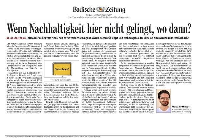 Geplante Bebauung Dietenbach Freiburg Nabu Freiburg