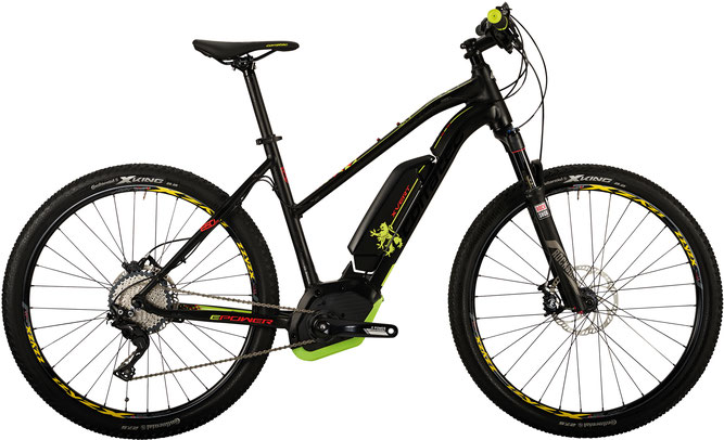 Corratec E-Power X Vert 29 CX Trapez 500 e-Mountainbike 2017