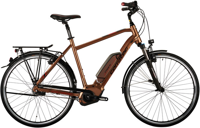 Corratec E-Power 28 Active 8S Coaster 500 Gent Trekking e-Bike 2017