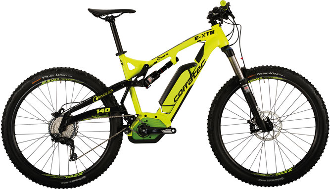 Corratec E-XTB 10 HZ CX 500 e-Mountainbike 2017