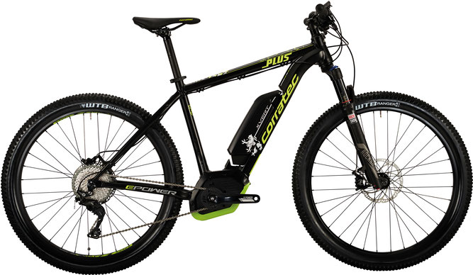 Corratec E-Power X Vert 650 B Plus X e-Mountainbike 2017