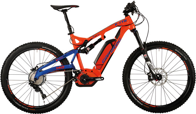 Corratec E-XTB 10 HZ Performance 45 500 e-Mountainbike 2017