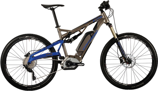 Corratec E-XTB CX 500 e-Mountainbike 2017