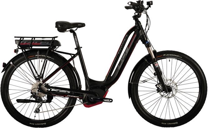 Corratec Life Performance 10S 500 Nyon Gesundheits e-Bike 2017