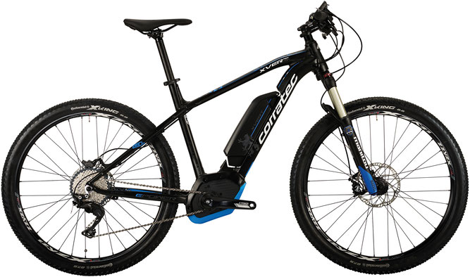 Corratec E-Power X Vert 650B CX Gent 500 e-Mountainbike 2017