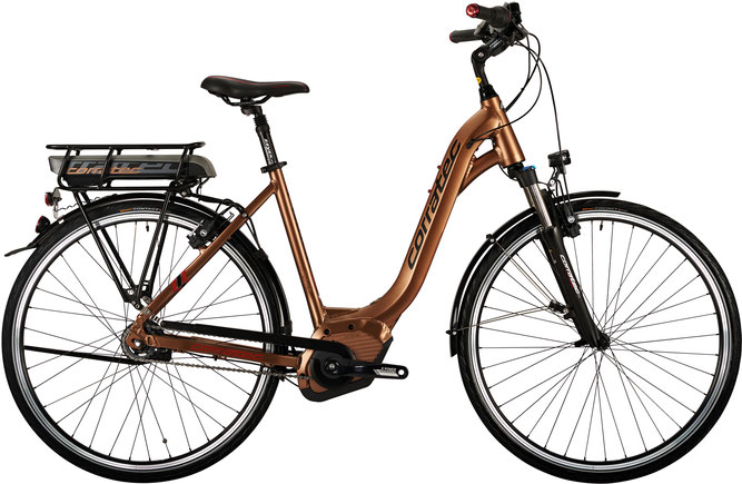 Corratec E-Power 28 Active 8S Coaster 500 Lady City e-Bike 2017