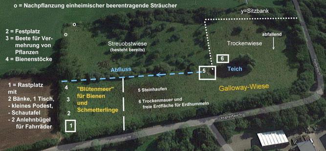 Vorläufiger Plan Haferteich