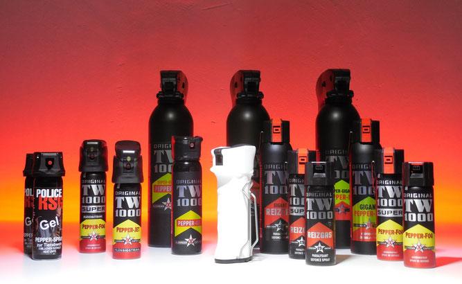 Pfefferspray kaufen und online Abwehrsprays bestellen