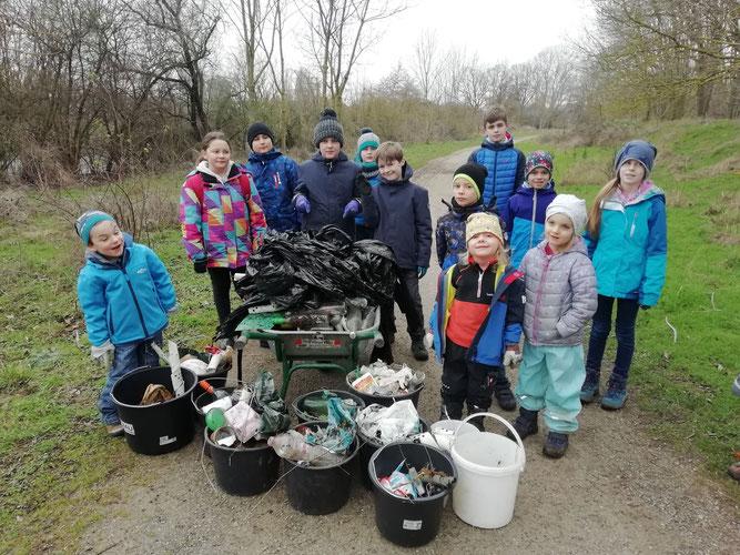NAJU Jahresbericht Kleine Naturschützer Kindergruppe NABU Düren