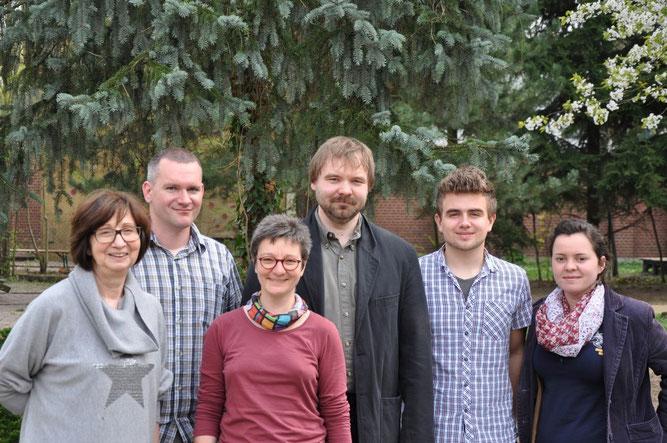 Der neu gewählte Vorstand des NABU-Regionalverband Leipzig e. V.: Sabine Stelzner, Karsten Peterlein, Kirsten Craß, René Sievert, Martin Lindner und Claudia Tavares (v.l.n.r.) Foto: Anne Weber
