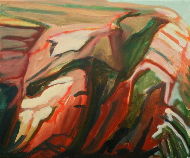 Falaise VI, 2017 Öl auf Leinwand 50x60