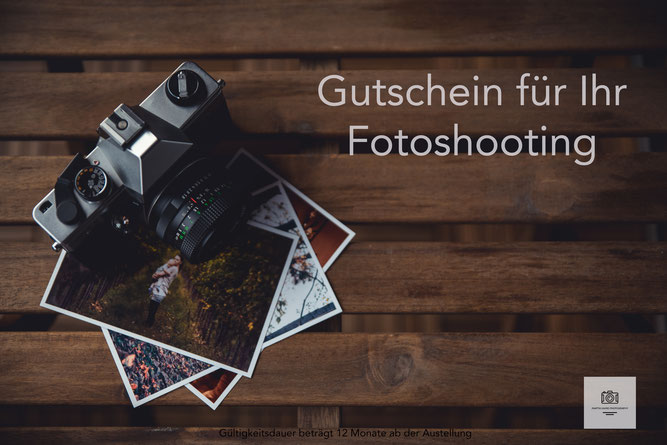 Fotoshooting Gutschein Fotograf