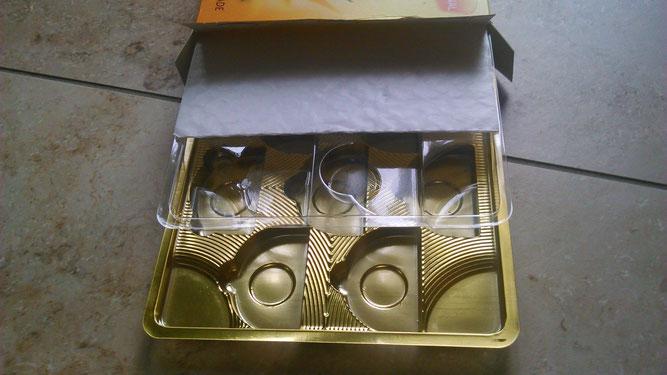 Wenig Schokolade für die Seele in viel zuviel Plastik verpackt.