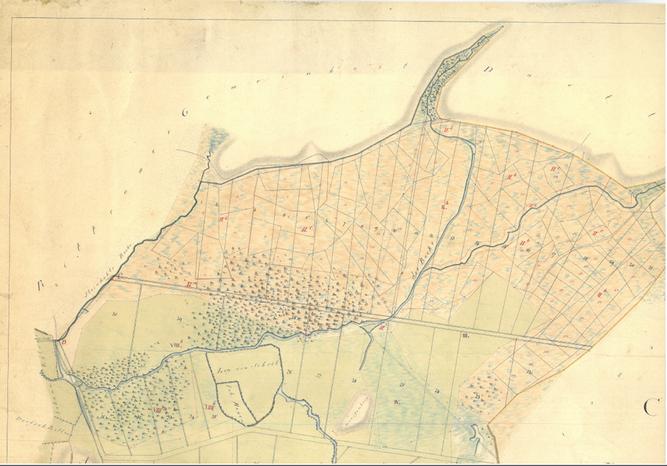 Das Poggenpohlsmoor um 1800
