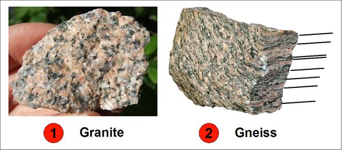 Les 2 Roches Granite  Gneiss