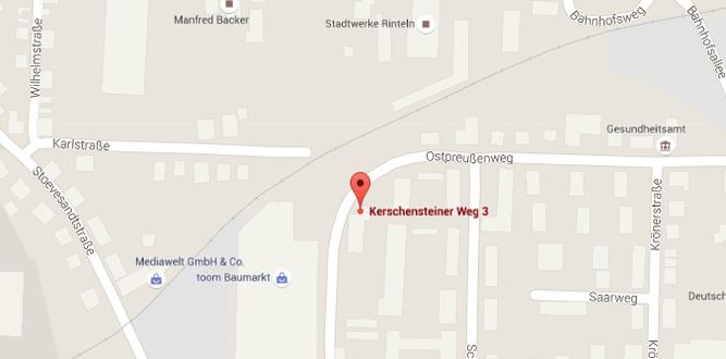 Das Natur- und Umweltschutzzentrum in Rinteln. - Quelle: Google Maps