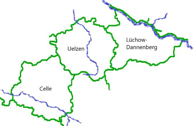 RGS Heide-Wendland / die Kreisgruppe und Kreisverbände - Grafik: Andrea Pohlen