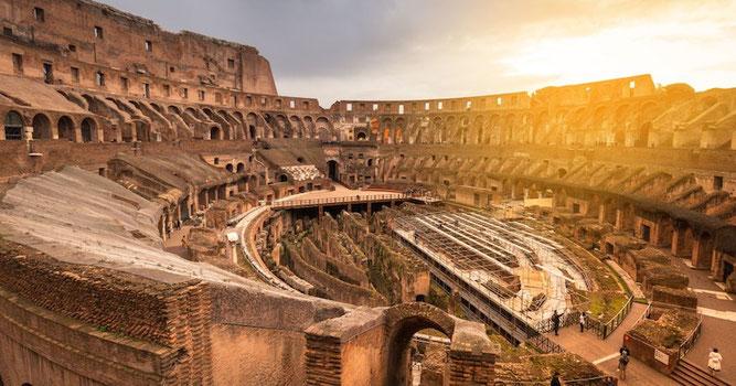le Colisée Rome cycle 3