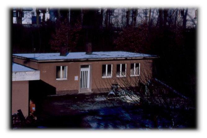 Vereinsheim vor der Renovierung 1988