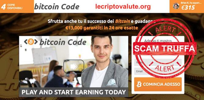 bitcoin code truffa stefano savarese opinioni recensioni