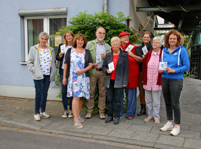 Gloria Braicks, Silke Gadegast, Marlies Fontes ,Benno Hermes, Frau Klein, Dr. Monika Heimann, Ursula Westerbrink, Waltraud Heimann, Birgit Röttering.