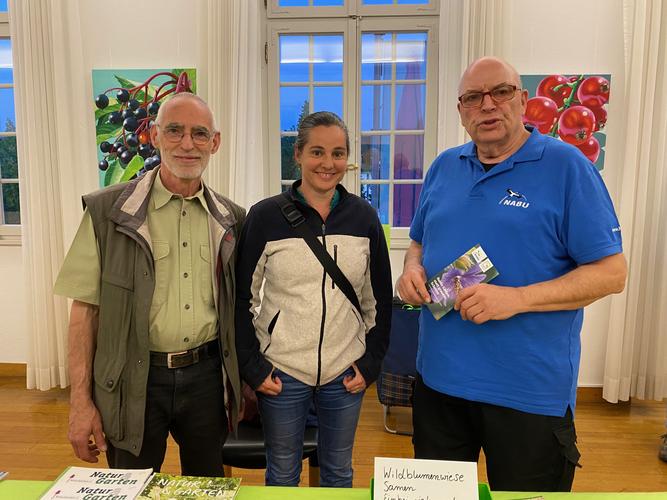Der neue Vorstand des NABU Schwetzingen und Umgebung