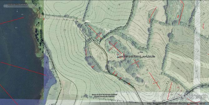 Topographie Kalkkuhlen /Kalkhausberg