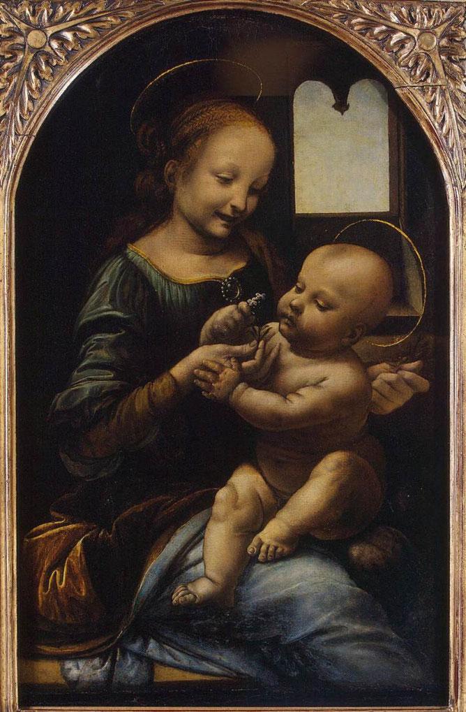 《ブロアの聖母》1478年