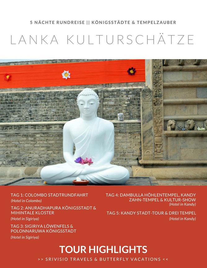 Sri Lanka Kulturschätze