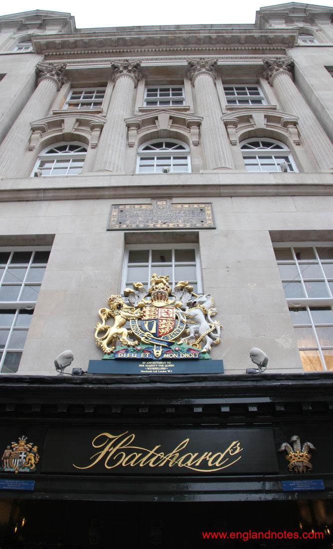 Die besten Buchläden in London: Hatchard's