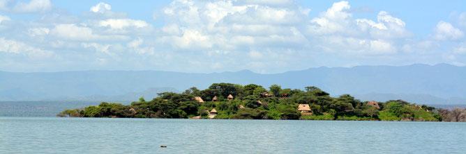 Isola di Ol Kokwe, Lago Baringo.