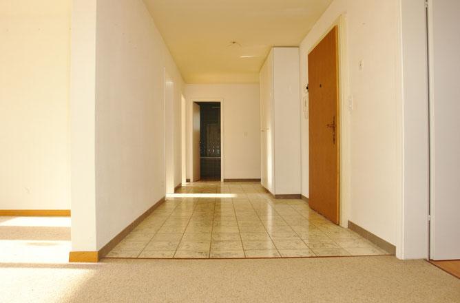 Grosszügiges Antlitz: Korridorbereich