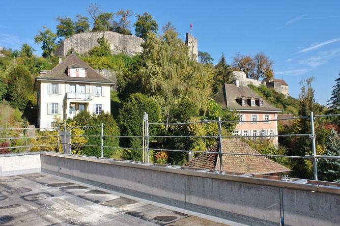 Grandiose Aussicht von der Dachterrasse