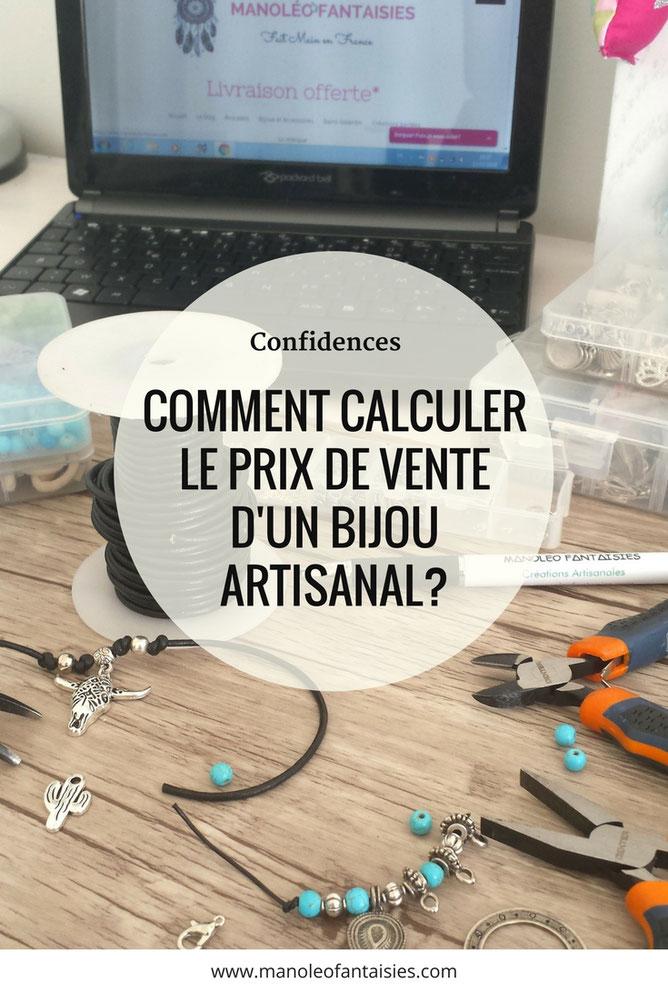 Calcul du prix de vente d'un bijou artisanal Article blog