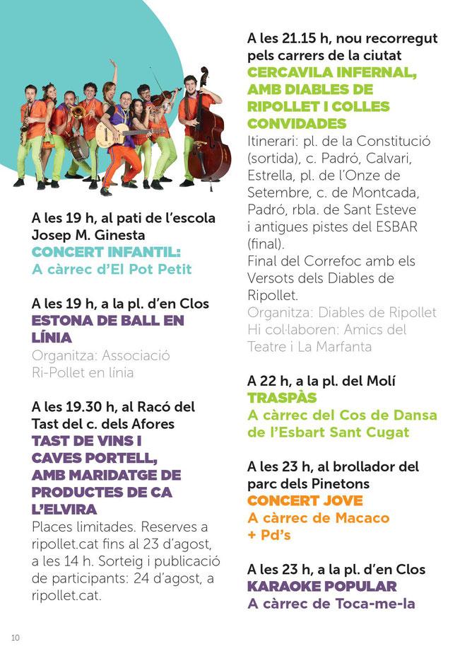 Fiestas en Ripollet Festa Major Programa