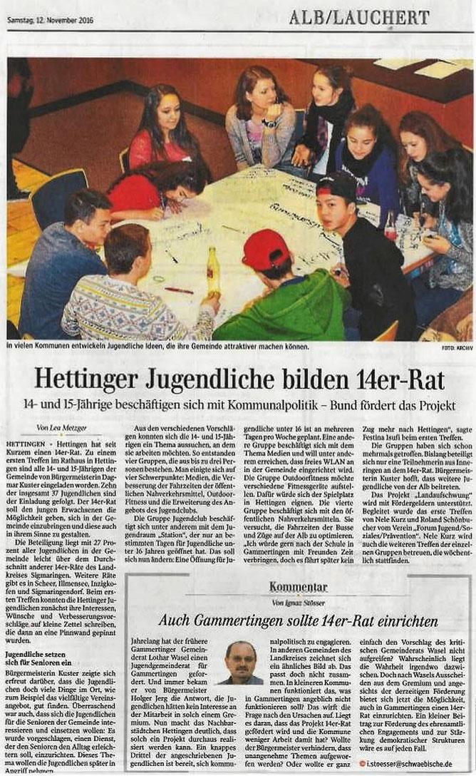 Schwäbische Zeitung -12-11-2016-