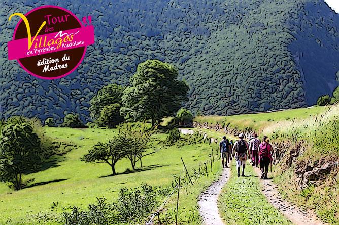 Tour des Villages - Rando Pyrénées Audoises