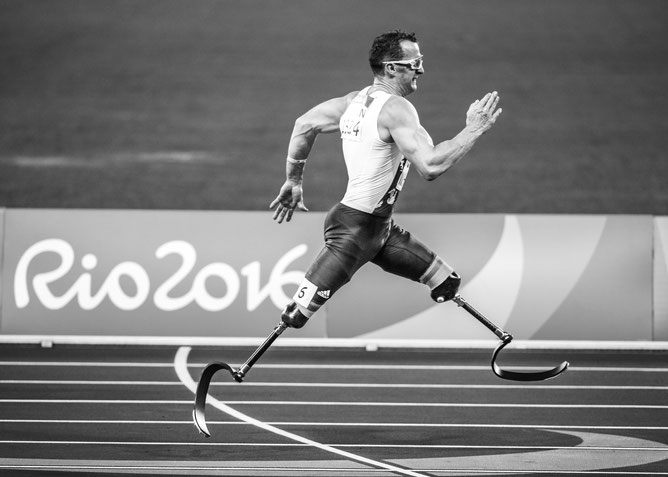 Rio 2016 Paralympics games. Limits are only in your head