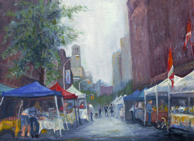 Color Study: University Place Street Fair
