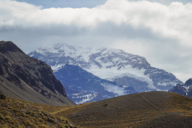Der Cerro Aconcagua ist mit 6962 m der höchste Berg Argentiniens