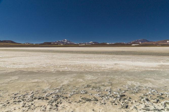 Salzwüste in der Puna auf 4000 m ü. M.