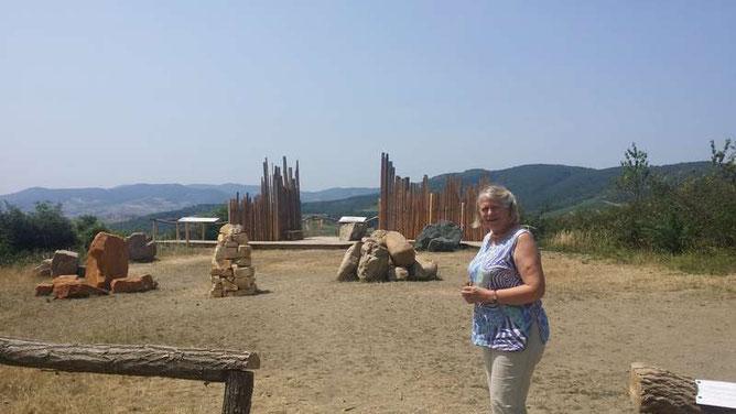 Chantal et son Projet GEOPARK