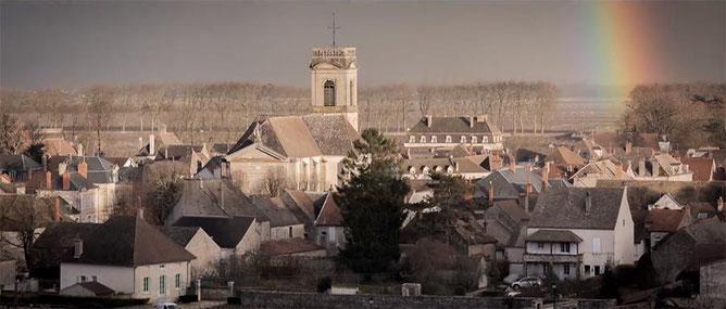 L'église de POMMARD