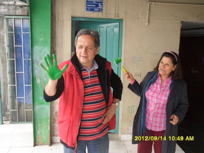 Coordinadora del proyecto de Convivencia Lic. ANA LUCERO DEL PILAR SILVA BARRERA